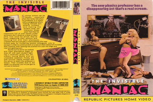 invisible maniac the